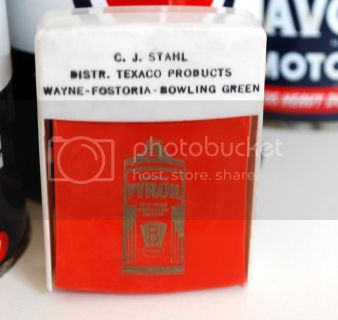 C.J. Stahl Texaco Distributor Items