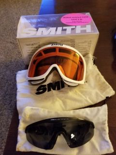 Smith goggles/duo