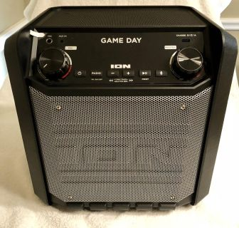 ION Game Day Wireless Bluetooth Portable Speaker