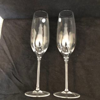 2 New Tiffany & Co Champagne Flutes. Porch Pick up Available. Staples Mill at 295.