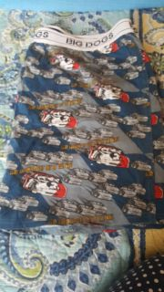 Men's Big Dogs Boxers, size 2X, never worn