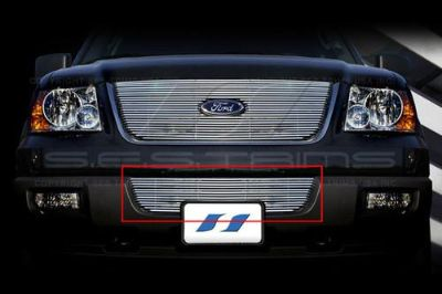 Find SES Trims TI-CG-116B 03-06 Ford Expedition Billet Grille Bar Grill Chromed motorcycle in Bowie, Maryland, US, for US $110.00