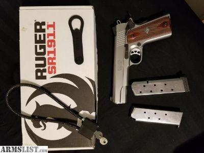 For Sale: Ruger SR1911