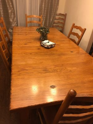 Wood Dining Room Table for 8