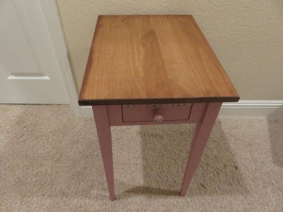 Painted Pine Accent Table