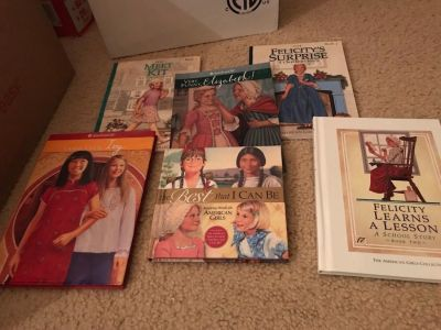 American Girl doll story books