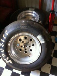 Weld Racing wheels Hoosier slicks