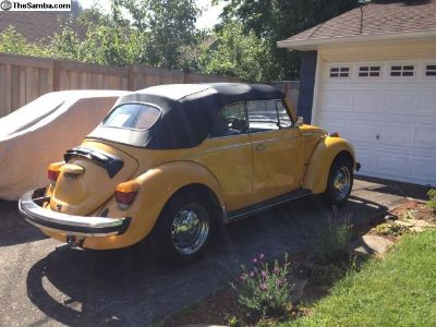 82,000 mile Convertible Beetle 1978 Karmann