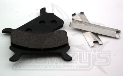 Find SPI Semi-Metallic Brake Pads Polaris Indy 440 XCR SP 1999 motorcycle in Hinckley, Ohio, United States, for US $31.63