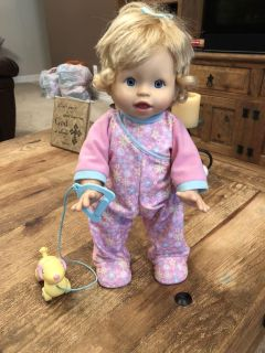 Fisher Price Talking and walking doll