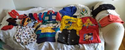 Great Lot of Fall Toddler Boys Apparel Sized S M L IN EUC
