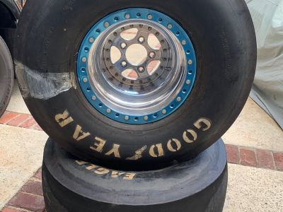Bogart double beadlocks & tires
