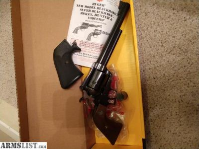 For Sale: Ruger Super Blackhawk .44 mag