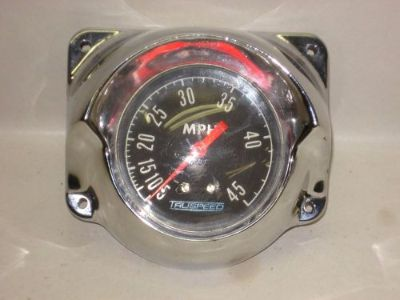 Sell Vintage boat Truspeed speedometer DISCOVER TLC web motorcycle in Whitmore Lake, Michigan, United States