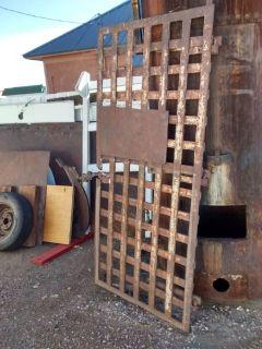 Architectural Salvage Antique Territorial Jail Cell Door
