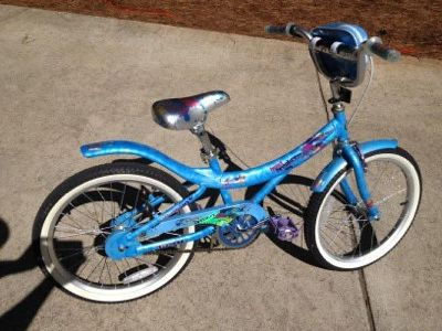 "$50 Girl's 20"" Heartbreaker Light Blue Bike Mint Condition"