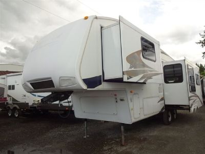 2007 Cougar 291RLS Rear Lounge Double Slide Double Slide Fifth Wheel