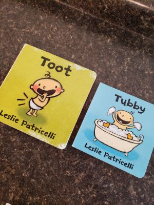 Leslie Patricelli books Toot and Tubby