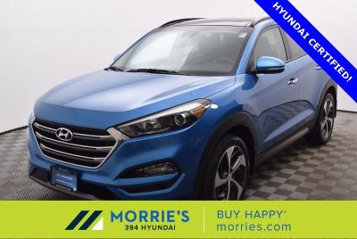 2016 Hyundai Tucson Limited (Caribbean Blue)