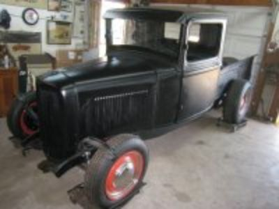 Featured 1934 Ford Pick Up For Sale or Trade