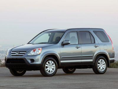 2005 Honda CR-V EX (Pewter Pearl)