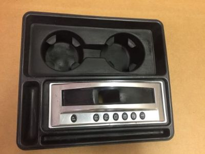 Purchase 03-07 HUMMER H2 CENTER CONSOLE SHIFTER BEZEL CUPHOLDER motorcycle in Columbus, Ohio, United States, for US $185.00