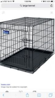 needing large kennels for a rescue group