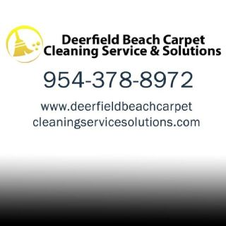 Deerfield Beach Carpet Cleaning Services