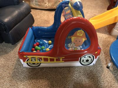 New Little People Ball Pit Truck