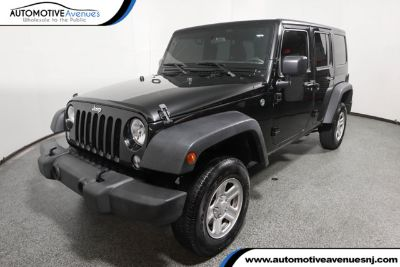 2017 Jeep Wrangler Unlimited (Black Clearcoat)