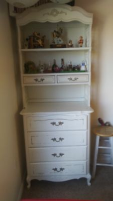 Antique french dresser w shelf. Best reasonable/offer takes