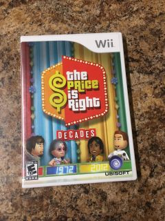EUC Wii The Price is Right game