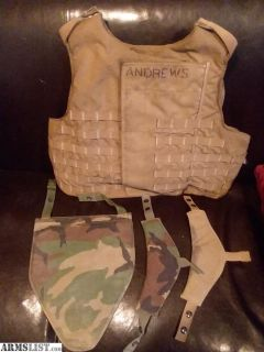 For Sale: Level IIIA Kevlar Vest
