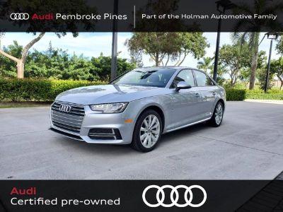 2018 Audi A4 Tech Premium (Florett silver metallic)
