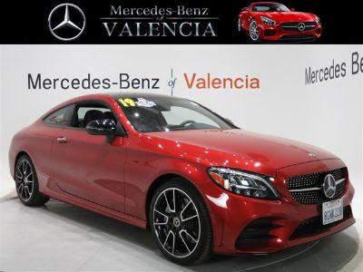 2019 Mercedes-Benz C-Class C 300 (Red)