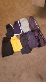 9 pairs or shorts size 6 and 6/7