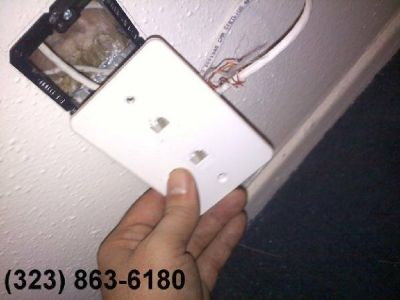 ★★OFFICE PHONE JACKS and UVERSE Wiring Installation