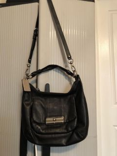 authentic coach cross body bag in great condition