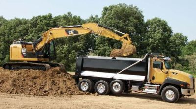 Dump truck - Heavy equipment financing for dealers
