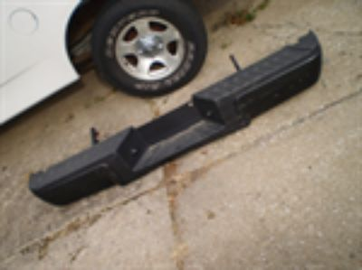 Parts For Sale: Ford F250 F350 f450 f550 BLACK Rear Bumper 2008 2016 TRUCK
