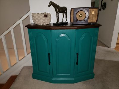 Entry/hallway table cabinet