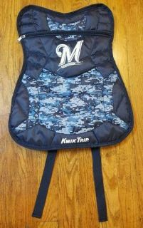 Milwaukee Brewers 2016 KIDS SGA Chest Protector Backpack Camouflage