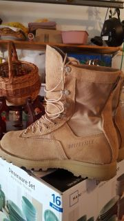 Military Boots--8 1/2 R, 10 R and 11R