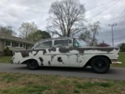 1956 chevy 150 2 door sedan $16,000