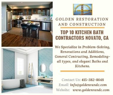 TOP 10 Kitchen Bath Contractors Novato, CA