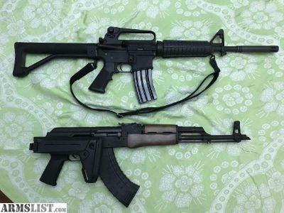 For Sale: Armalite M4 A2 and WASR 10