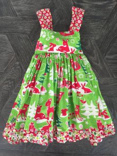 Jelly the Pug Christmas/holiday dress (size 2T)