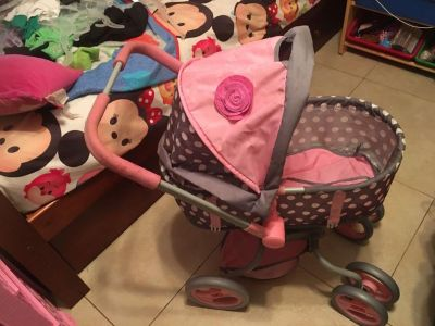 Large baby doll stroller