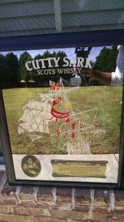 Cutty Sark Scots Whisky Picture/Mirror