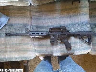 For Sale/Trade: AR15 with colt barrel